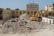 الانتهاء من اعمال الهدم والإزالة لمشروع مدرسة الفنون والصنائع بمدينة طرابلس