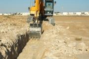التسليم النهائي لأعمال مشروع مسار الكوابل الهاتفية بمدينة راس لانوف والربط بإتلاف الشركة الليبية الأمارتية